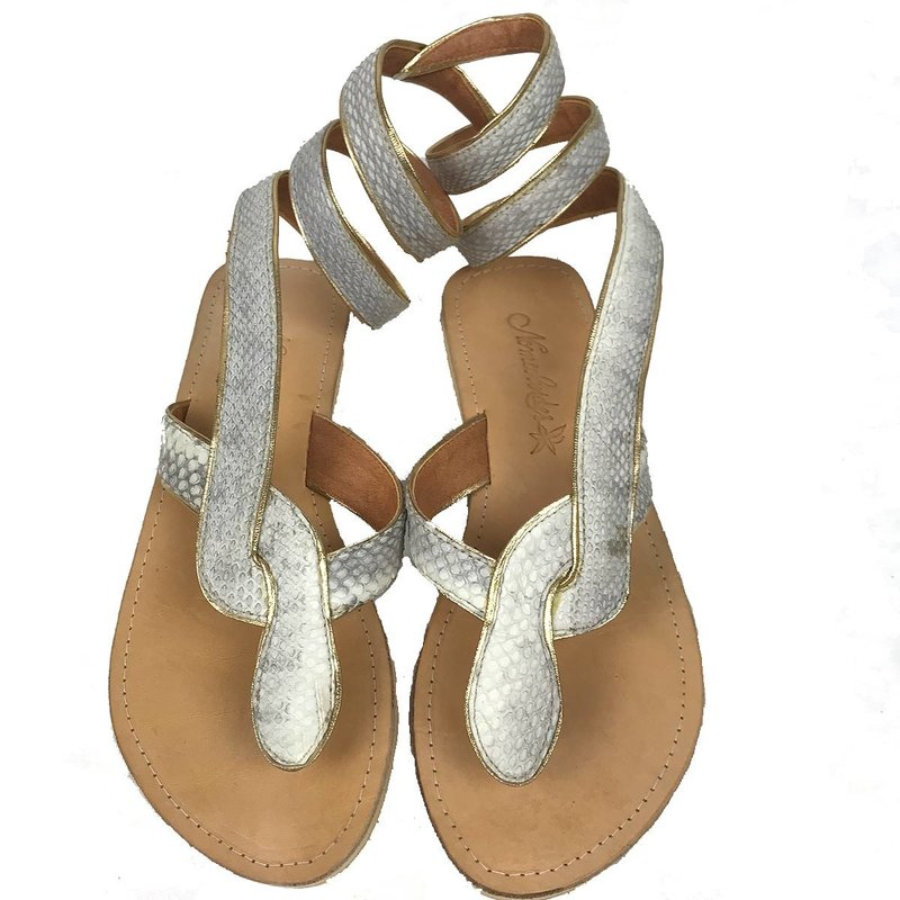 Sandalias Serpiente Gold
