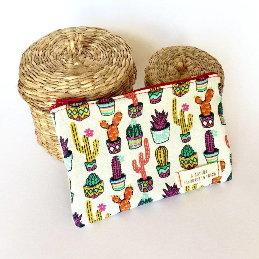 Monederos Cactus de Colores