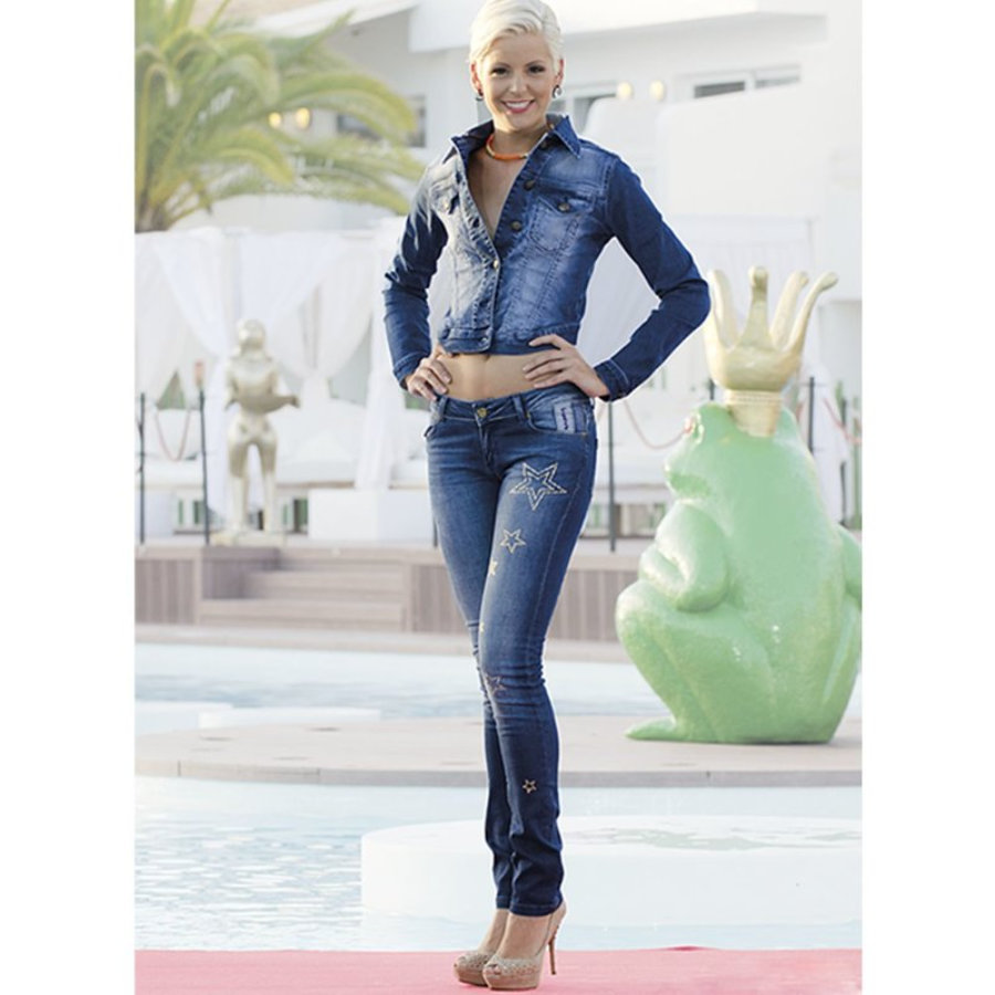 JEANS NURIA STAR Denim Azul