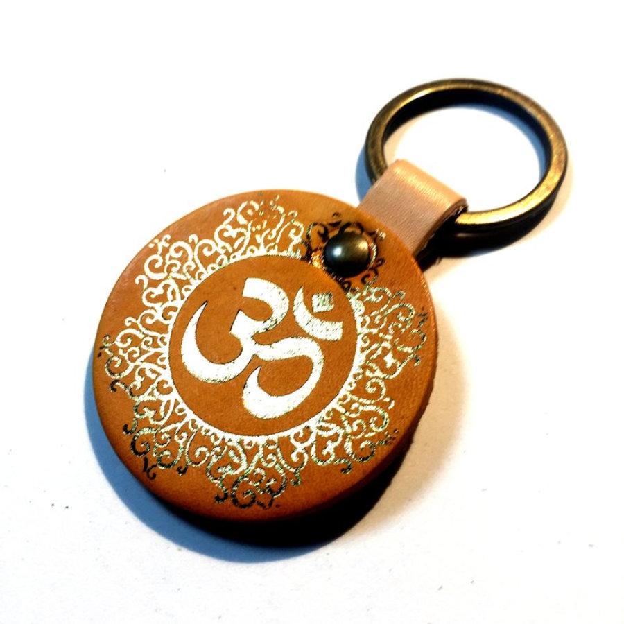 Llavero Mandala Om