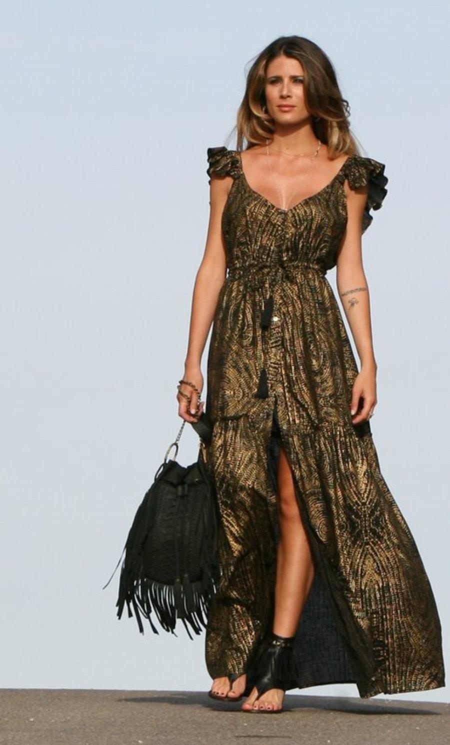 Vestido Gypsy Oro