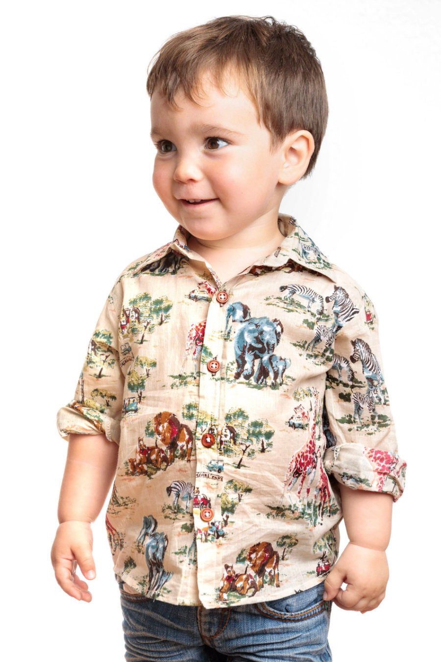 "Camisa NICK ""Safari"""