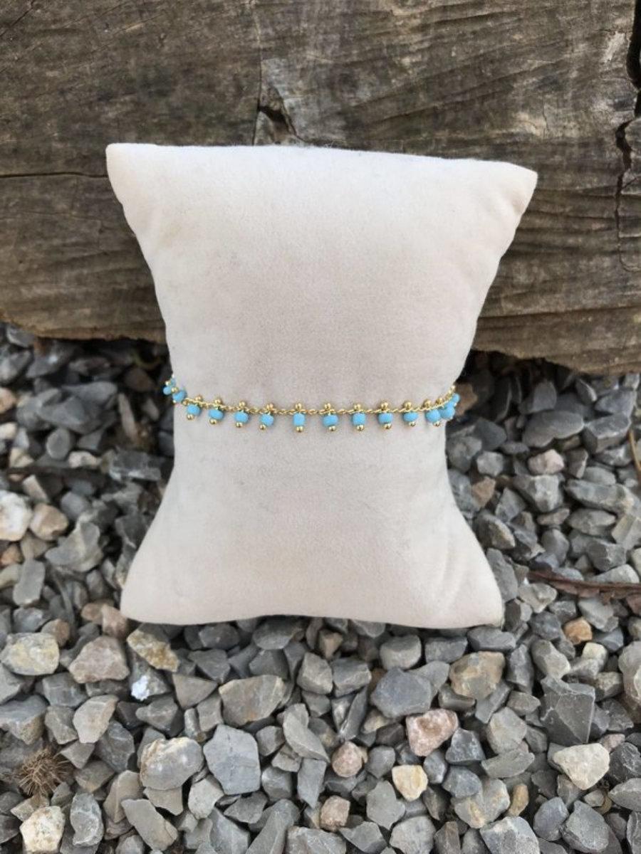 Bracelet-With crystal beats