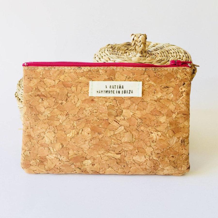 Cork big purse