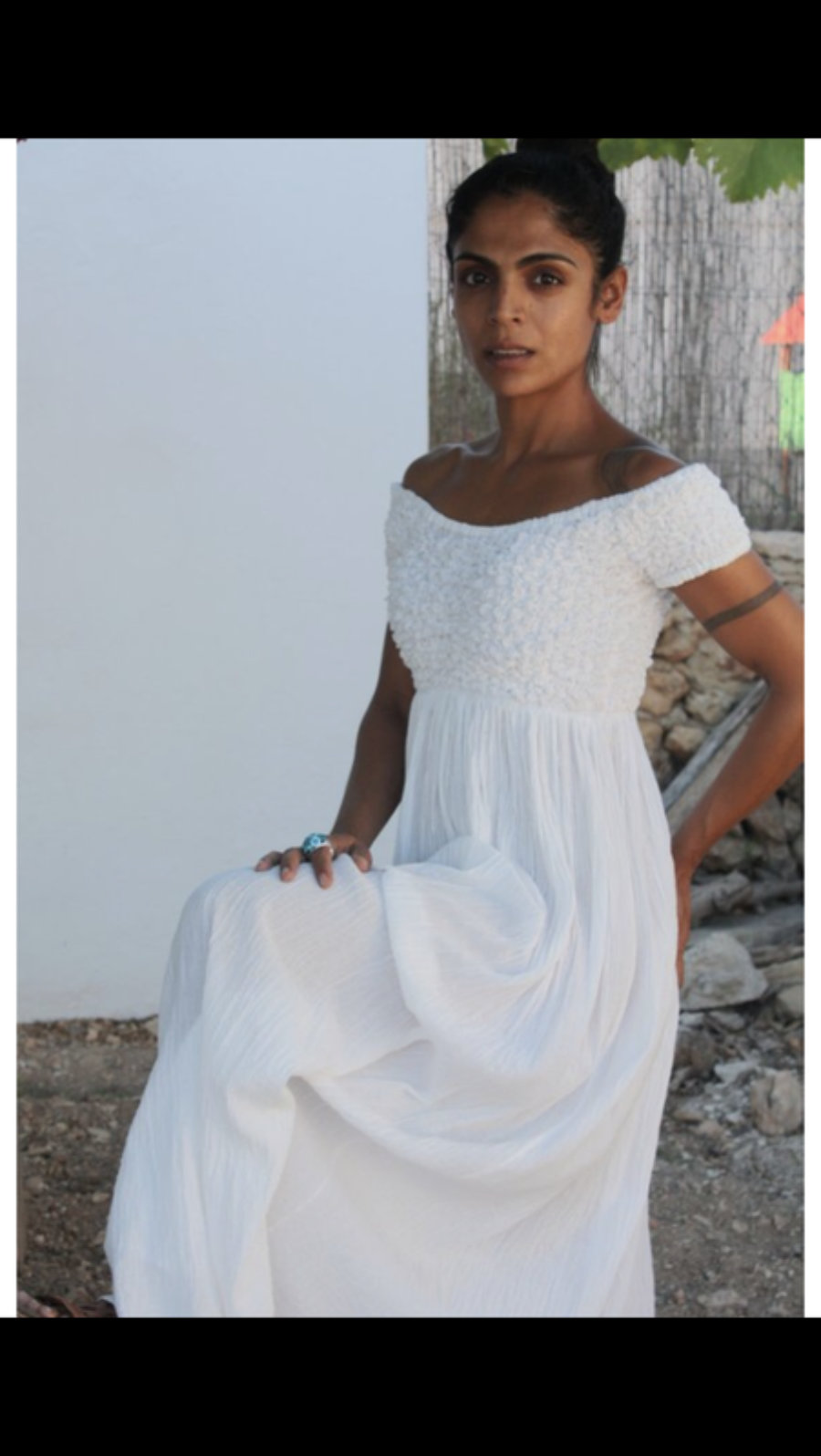 Vestido Globo, moda Adlib hecho a mano en Ibiza