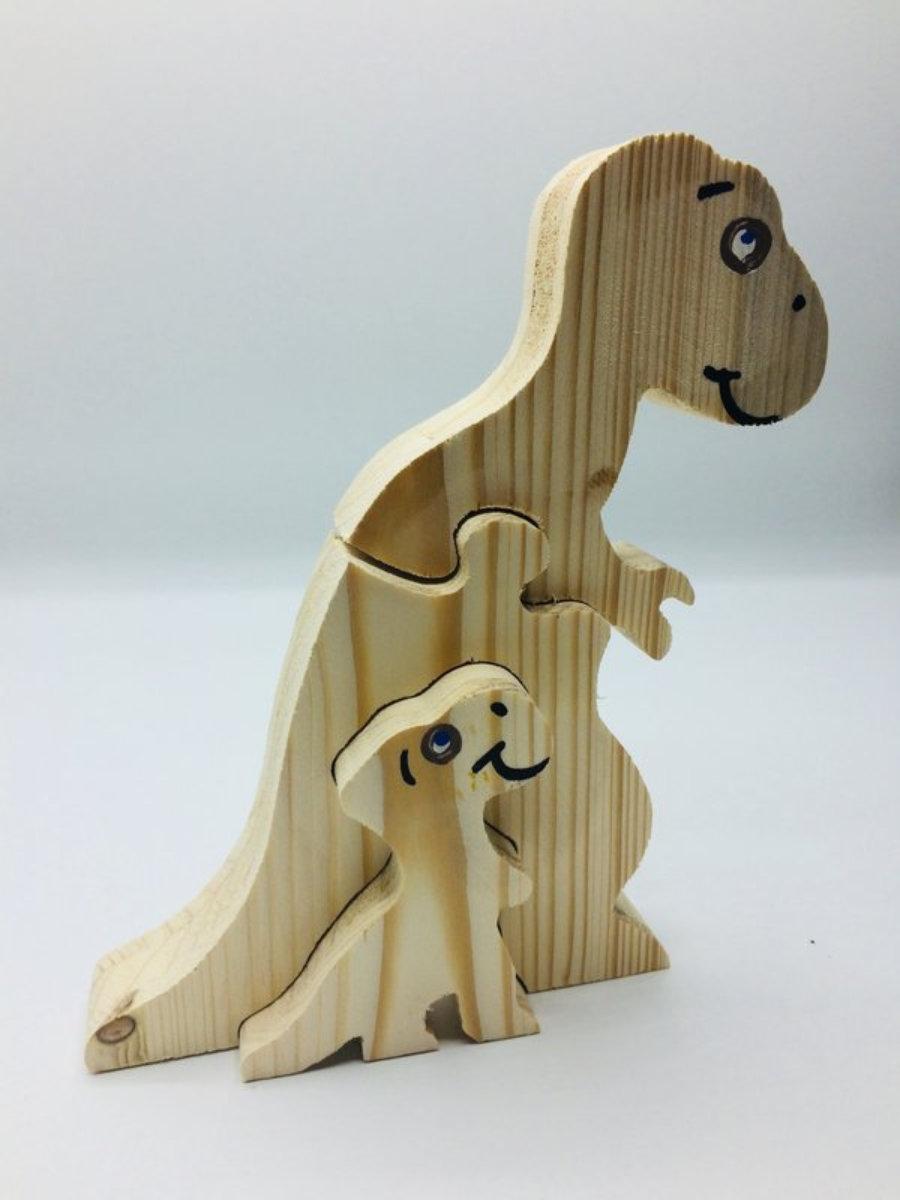 Puzle Dino Mama