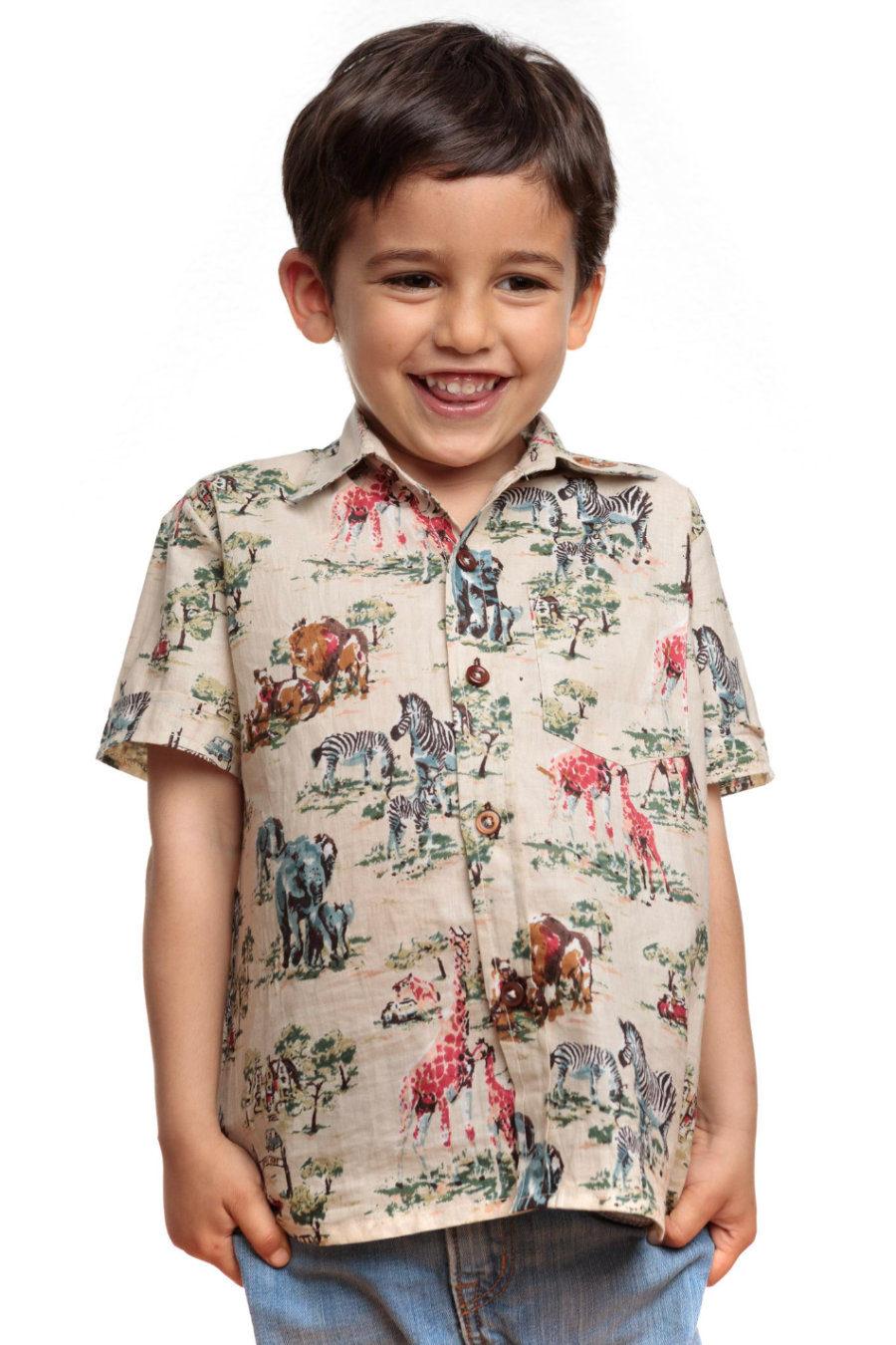 "Camisa PAU ""Safari"""