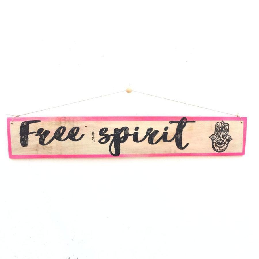 Cartel Free Spirit - Enkaja Ibiza