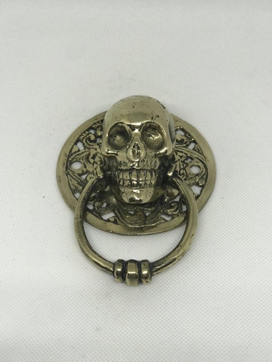 Aldaba calavera metal