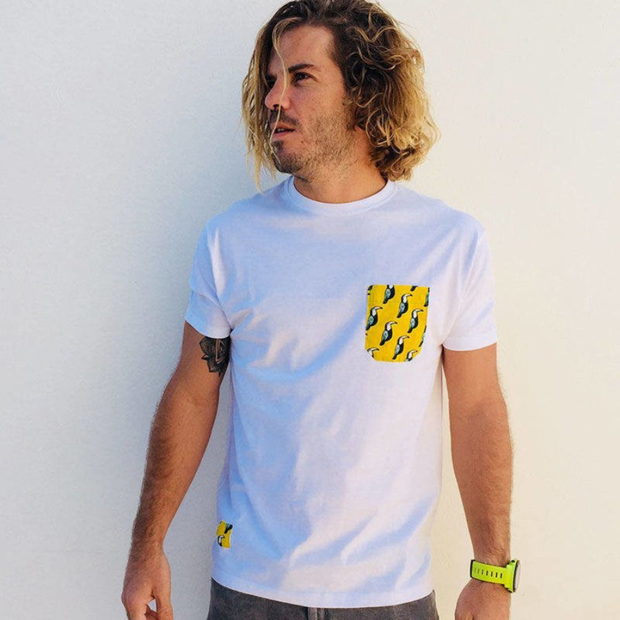 Camiseta Bolsillo Tucanes