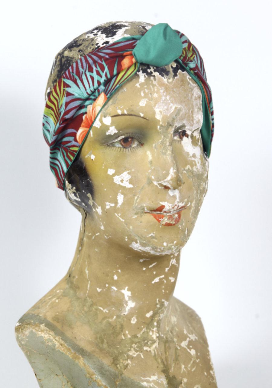 Turbantes - bandanas Ancha Reversibles - Tropical Obsession
