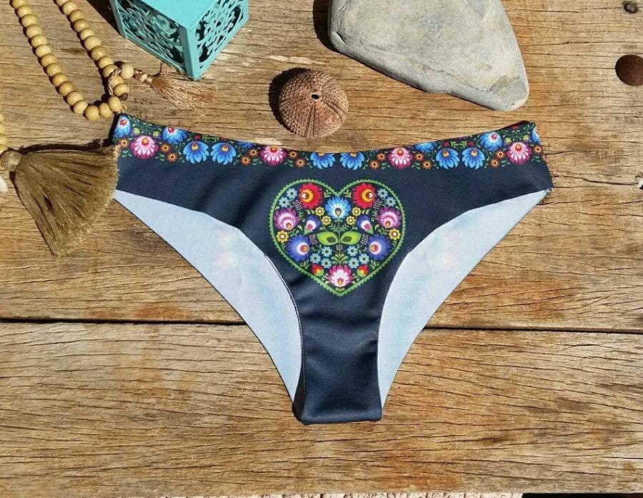 Bikini/Braguita Flowers