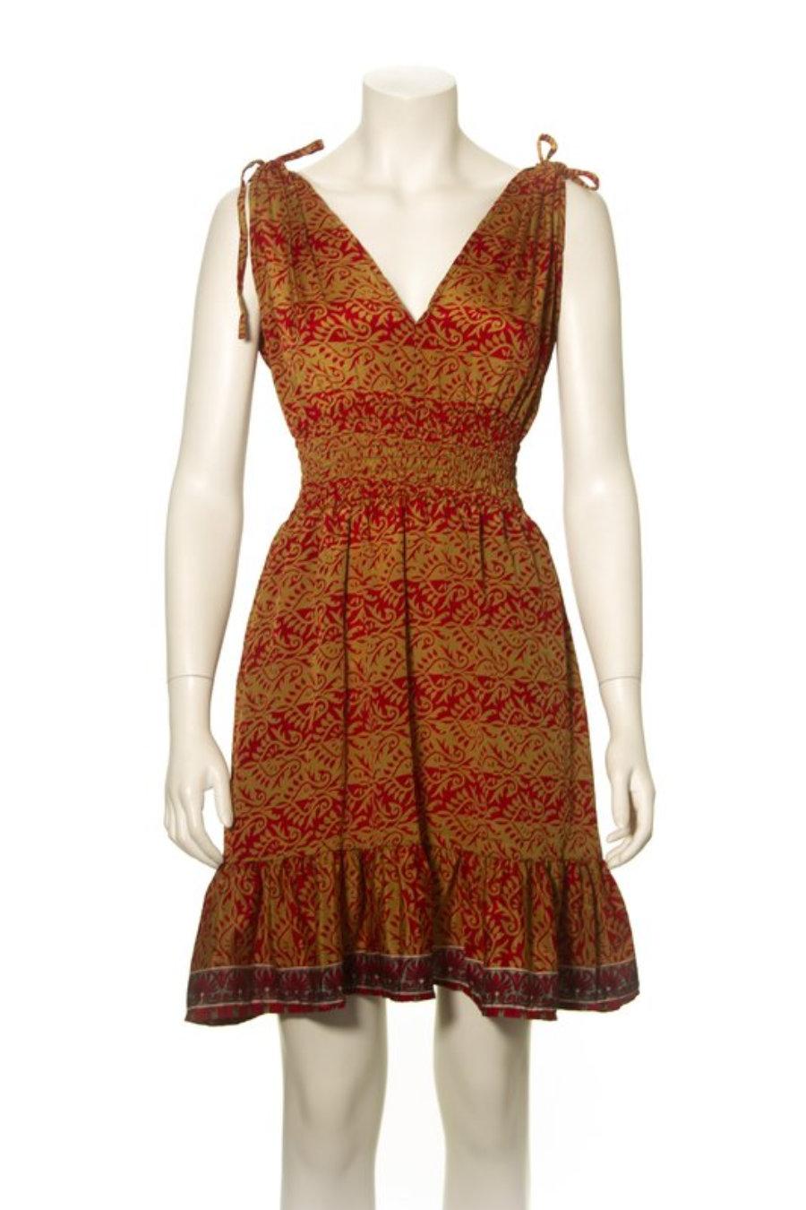 Liz Dress - Poly Silk