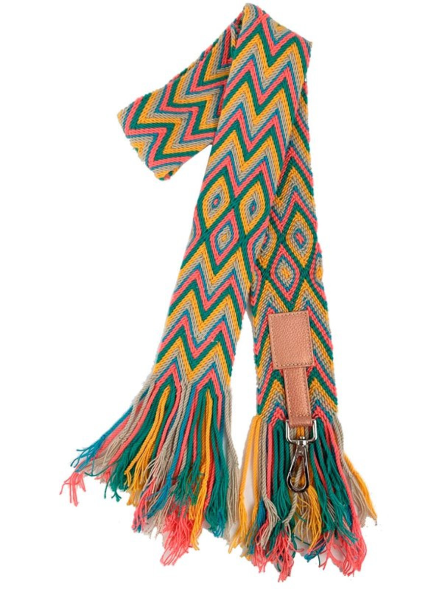 Strap Wayuu Caramelo