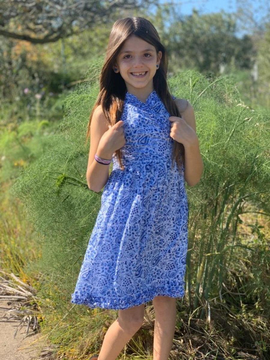 Vestido Angelina kid, para las pequeñas de Aurobelle