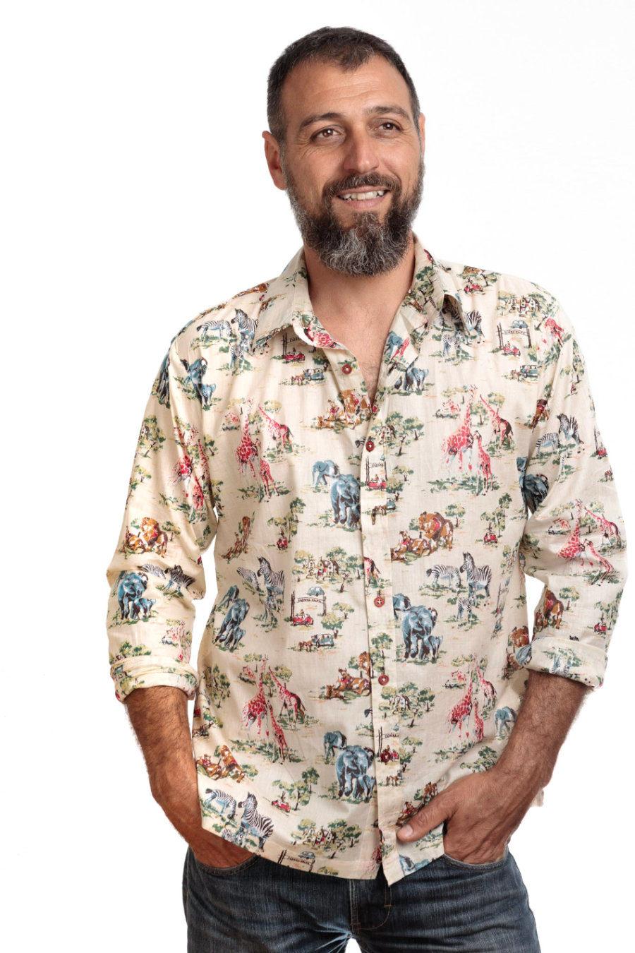 "Camisa BOB ""Safari"""