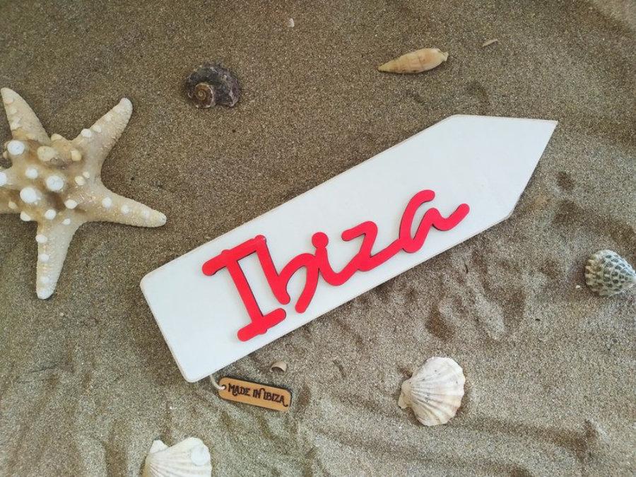 Flecha Ibiza Blanca 3D