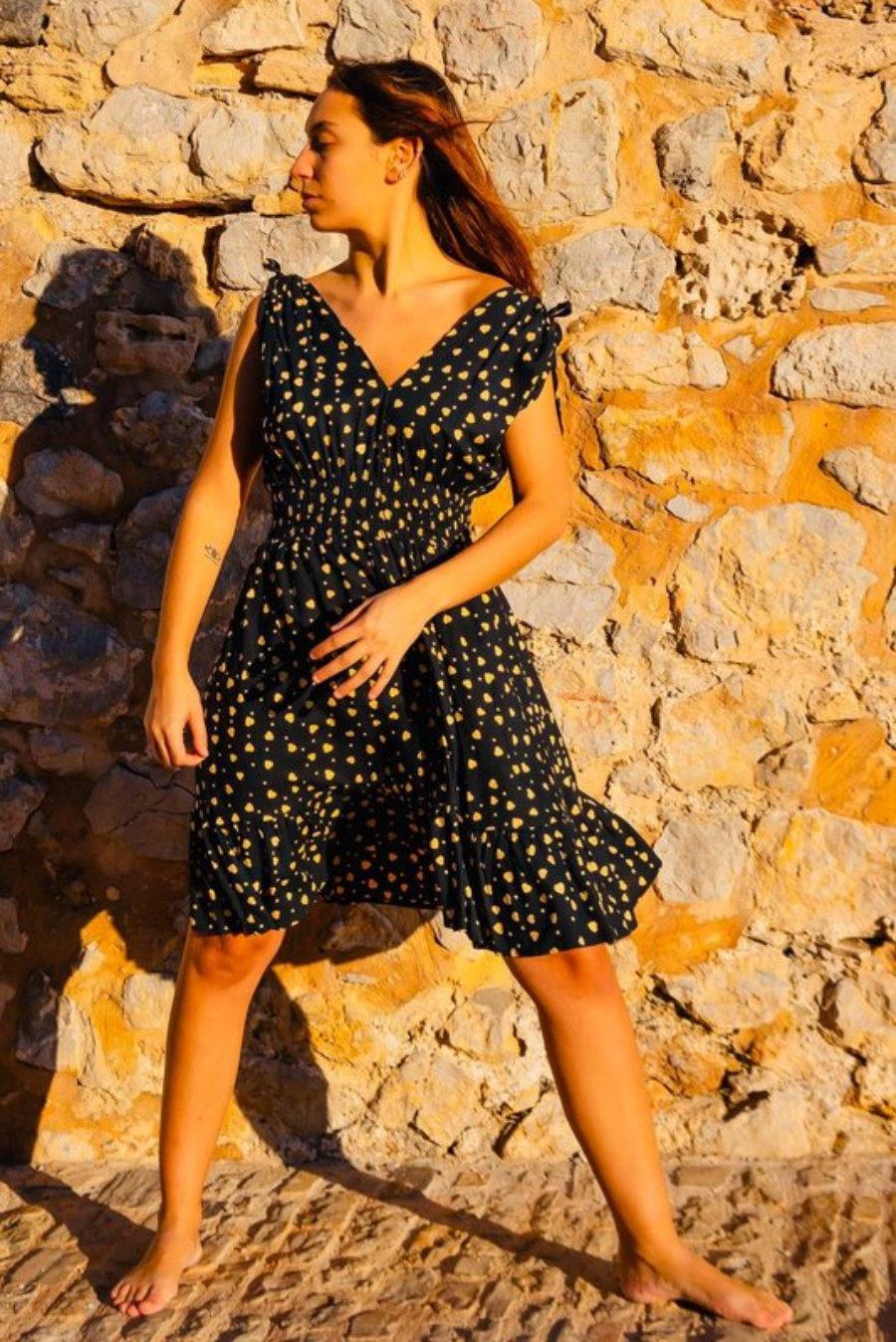 Liz Dress Corazones