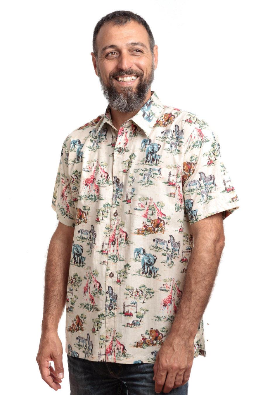 "Camisa MICKY ""Safari"""