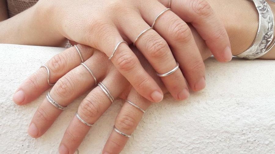 anillos apilables
