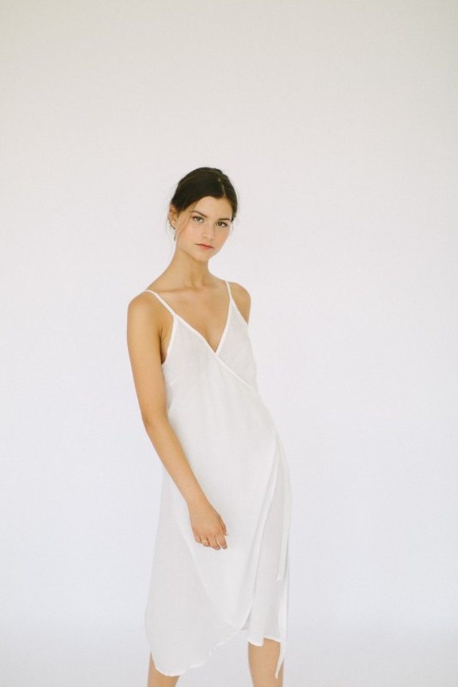 Alma Dress - White