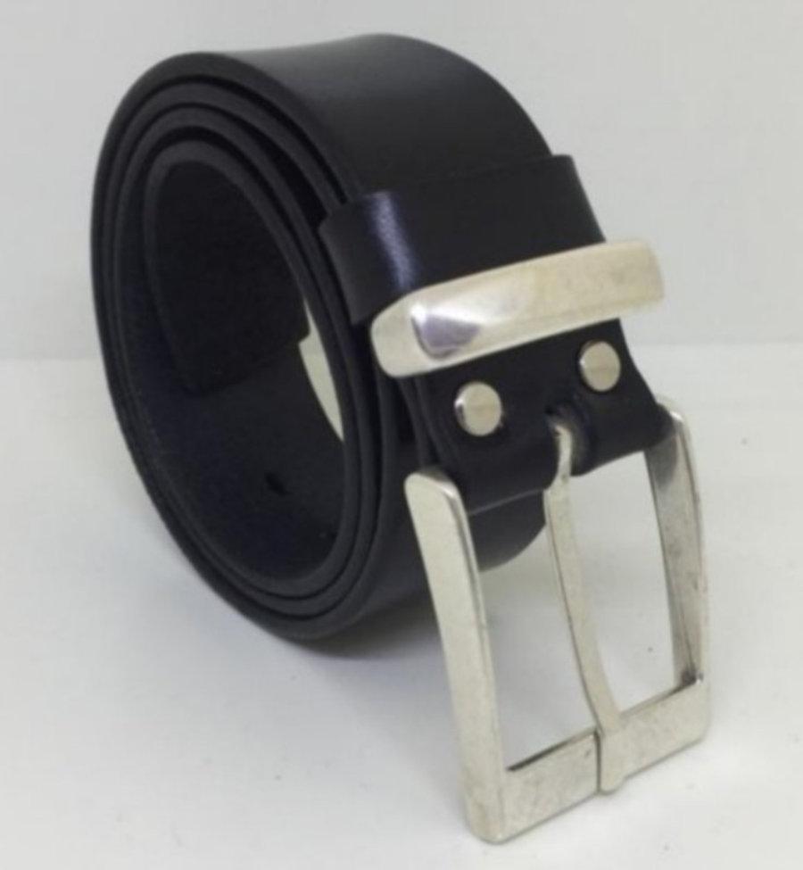 """Cinturón 100% en cuero, 4cm """"Classic"""""""