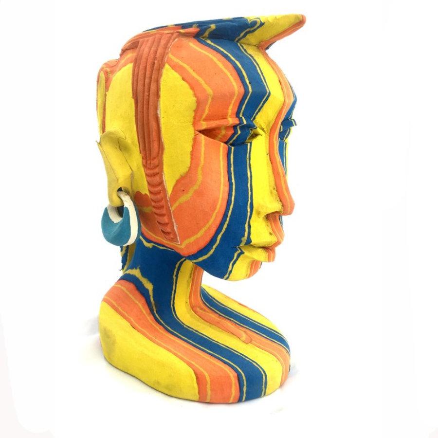 Masai flip flop sculpture