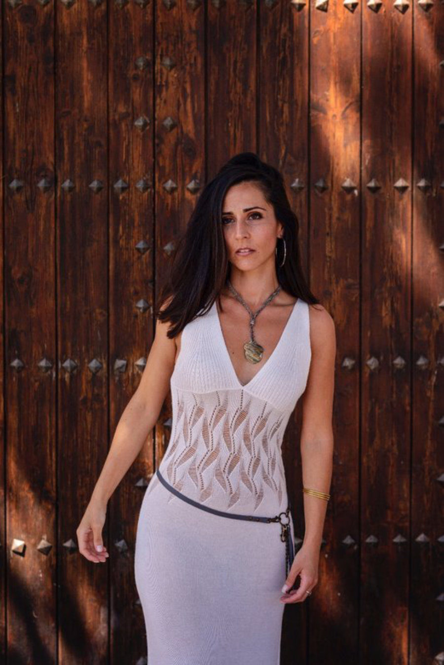 Vestido Pirata Blanco