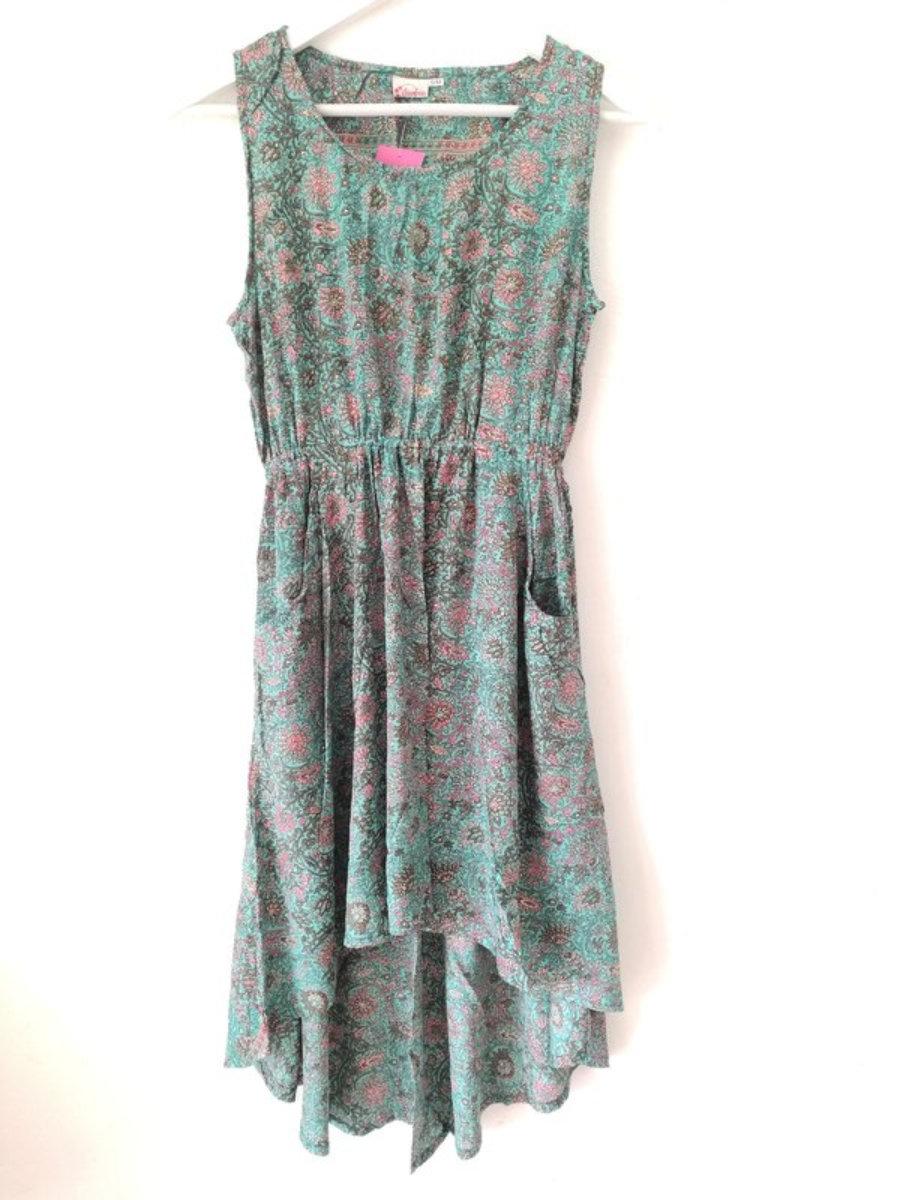 Short Holly Dress with pockets.