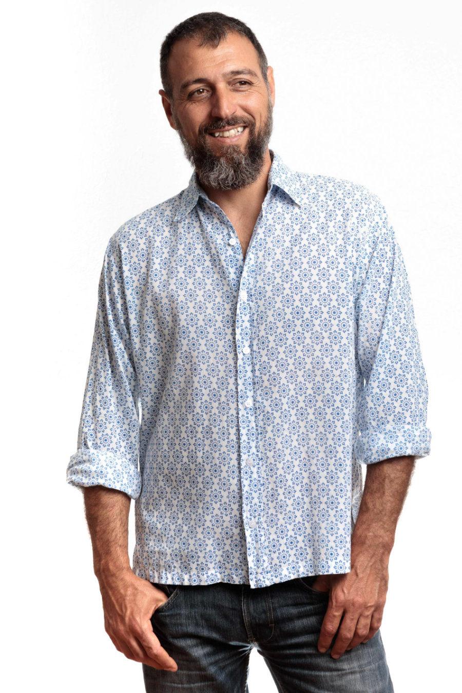 "Camisa BOB ""Mykonos"""