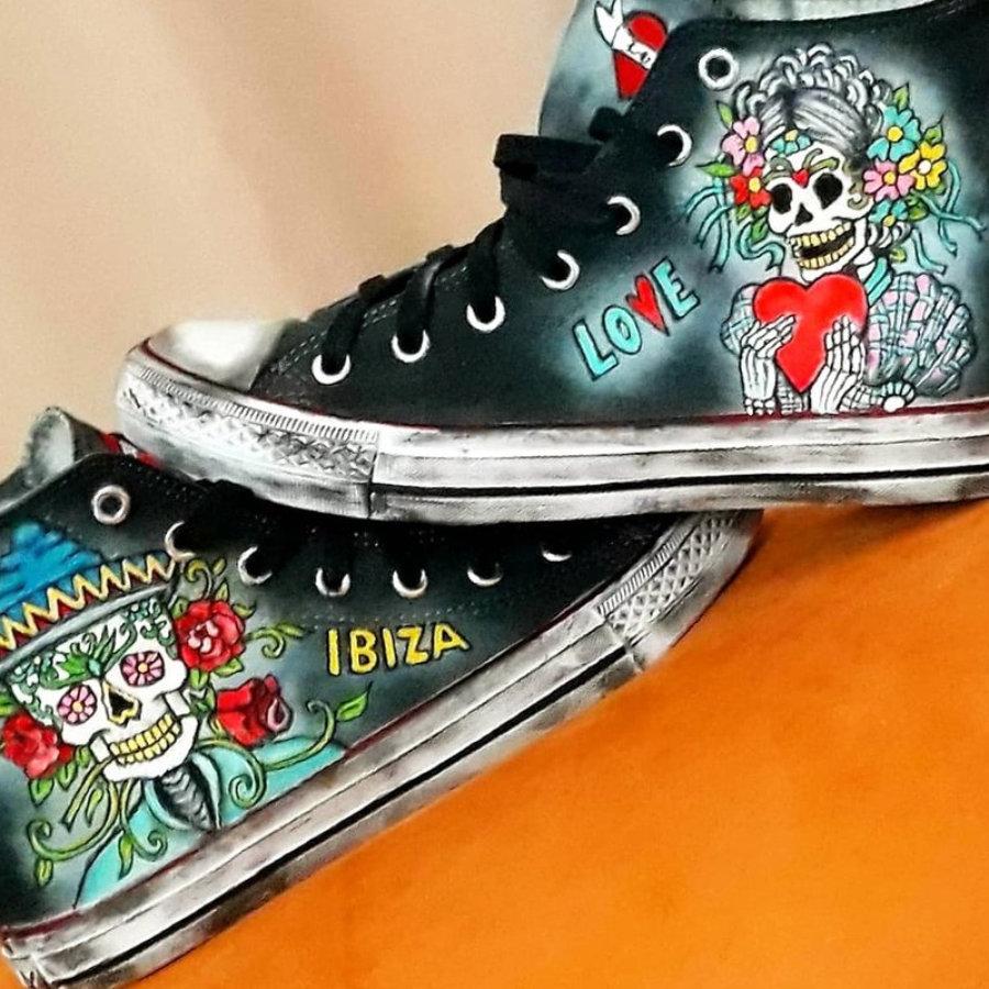 Sneakers tattoo love & ibiza