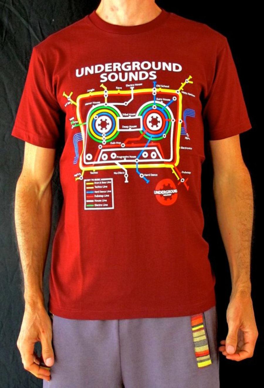 Camiseta Metro