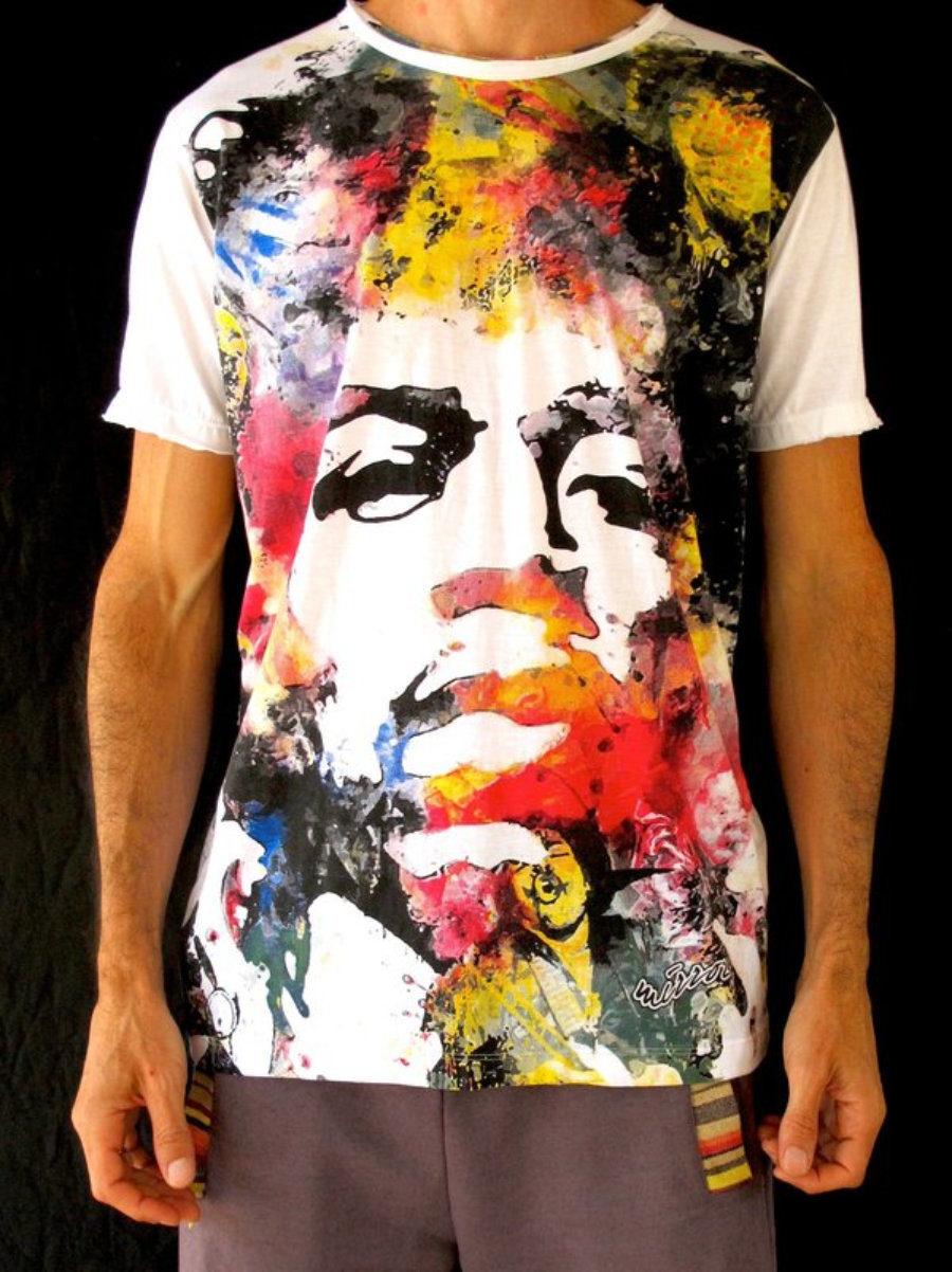 Camiseta Hendrix