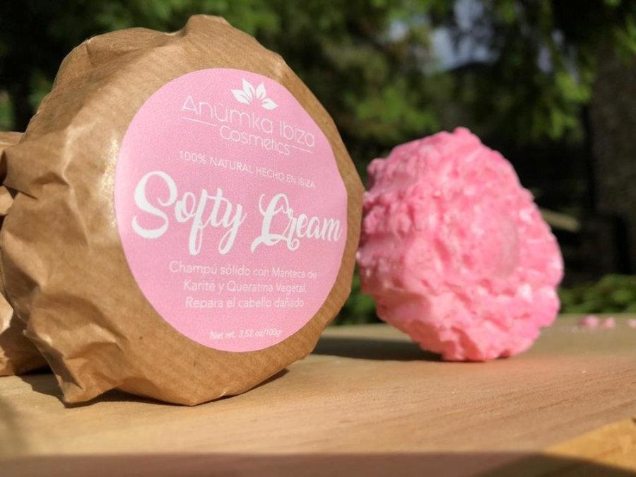 Softy Cream.  Champú Solido