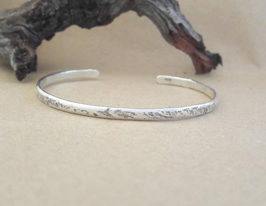 silver bangle 3mm