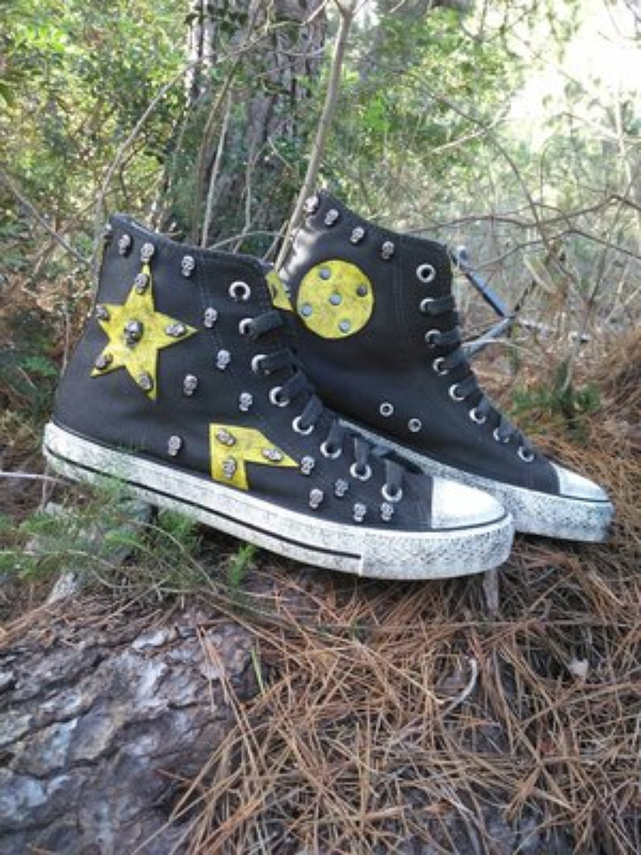 Rockers negras estrella amarilla