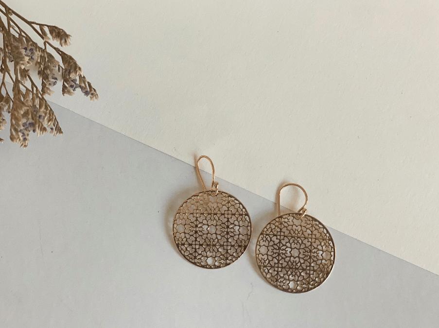Small Mandala Earrings