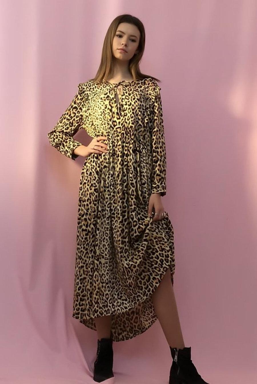 Laura Dress Leo