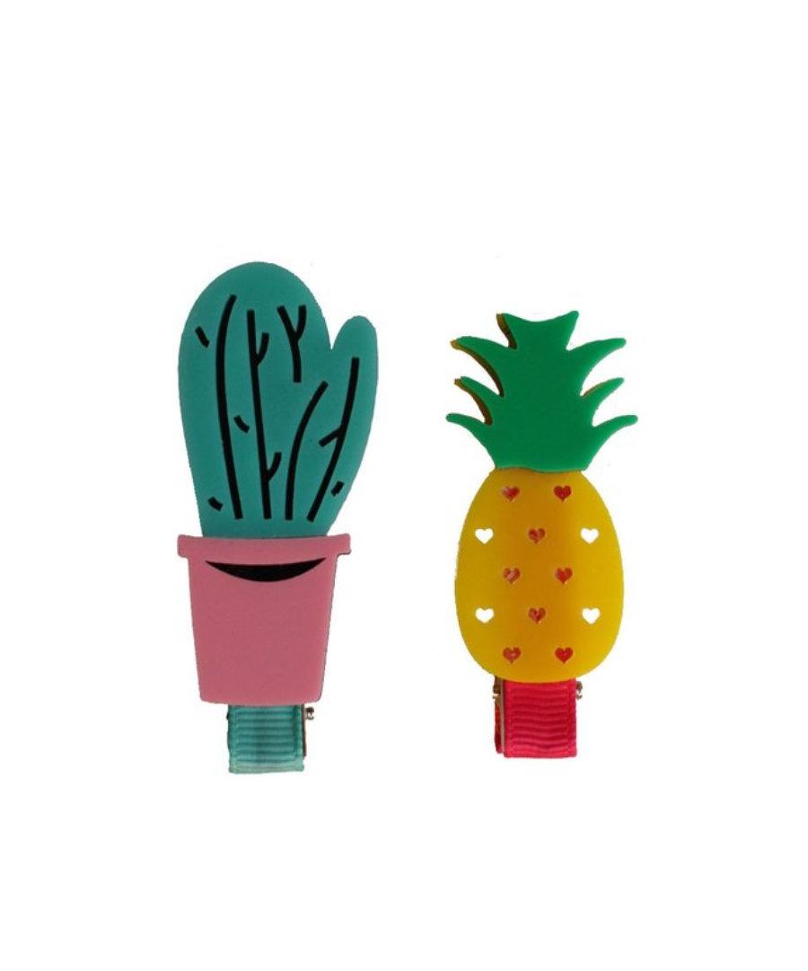 Pinza cactus y piña