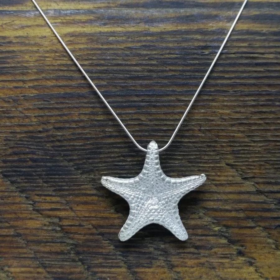 Colgante estrella de mar grande
