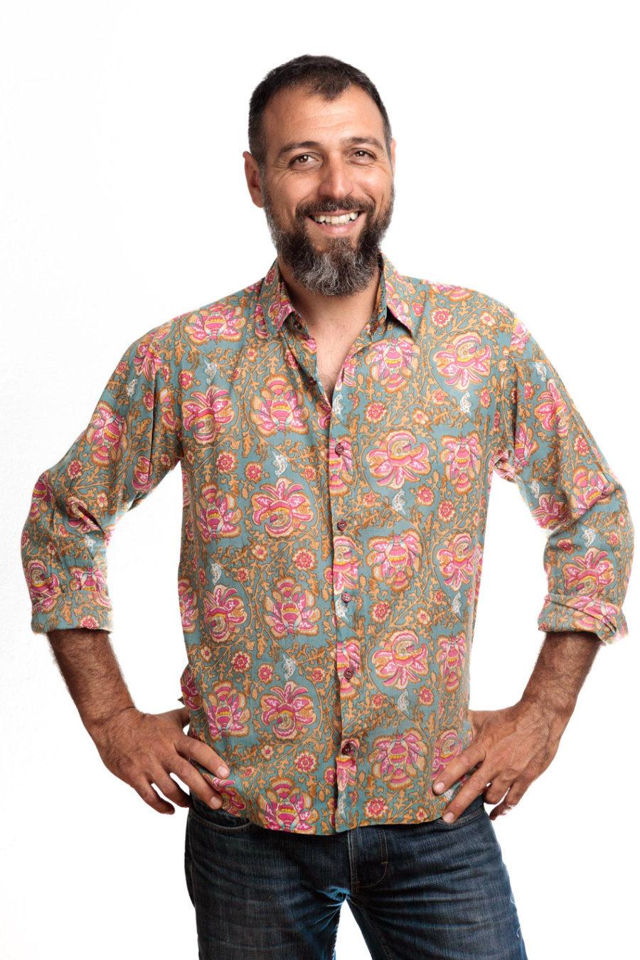 "Camisa BOB ""Woodstock"""