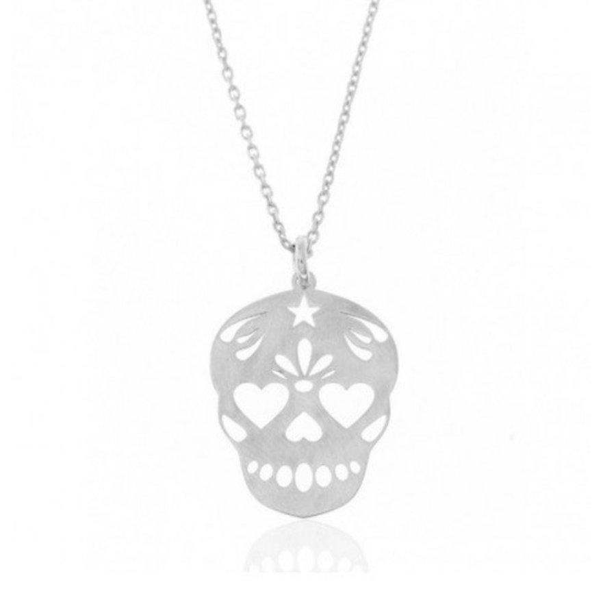 "Colgante ""Mexican Skull"""