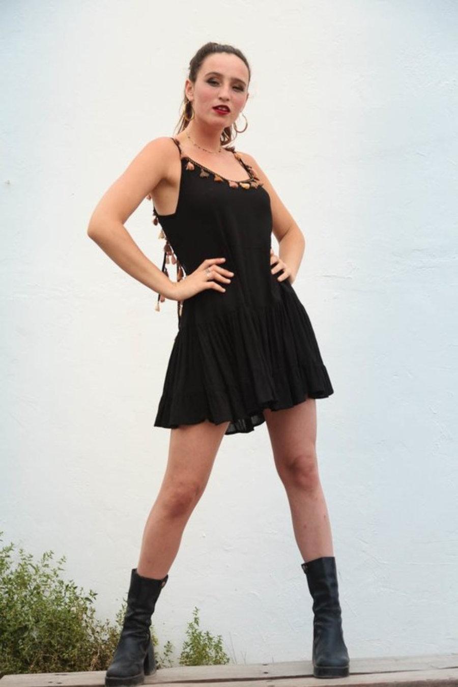 Vestido Pompon