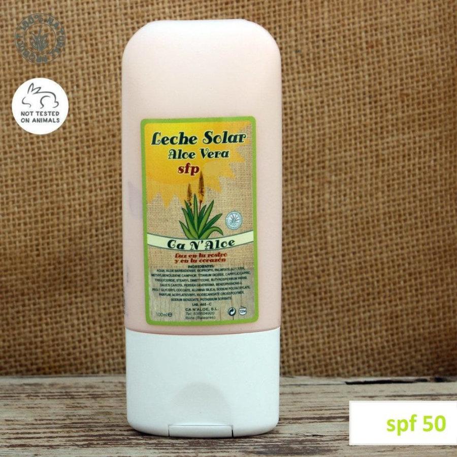 Leche Solar Aloe Vera (Factor 50)