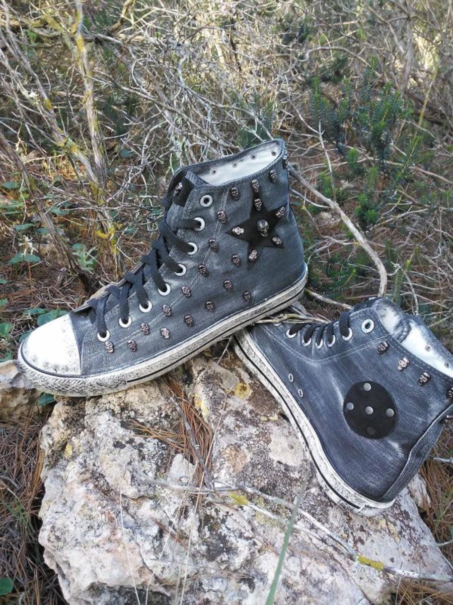 Rockers gris estrella plata