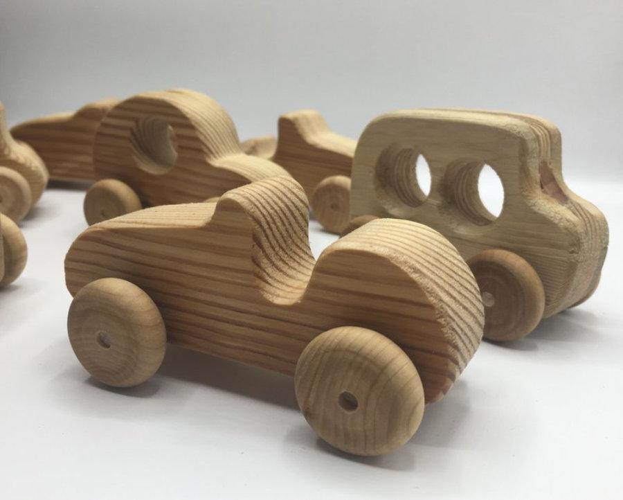 Cochecitos de madera