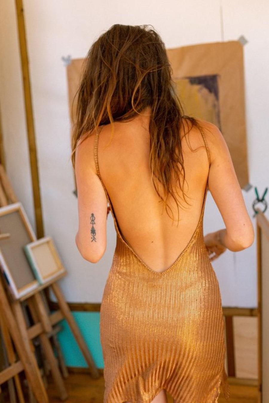 Vestido Afrodita Fendi corto