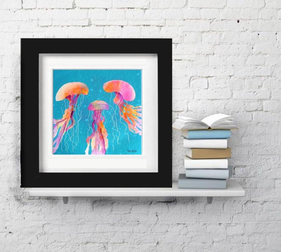 Medusa naranja