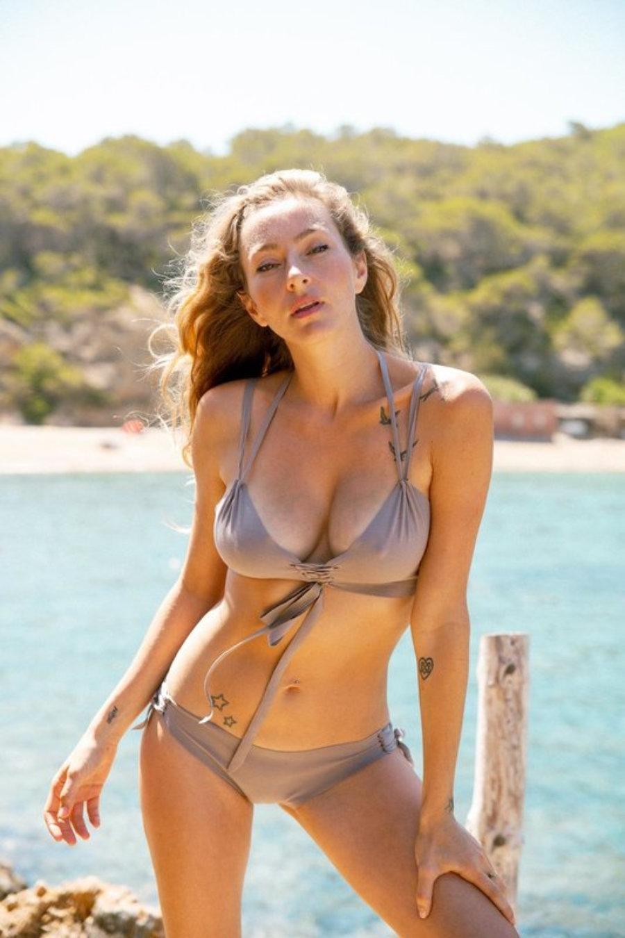 Hawaii top/ slip colibri seamless and handmade bikini