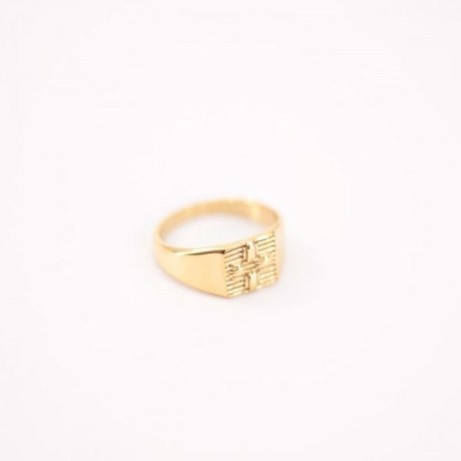 Square seal ring